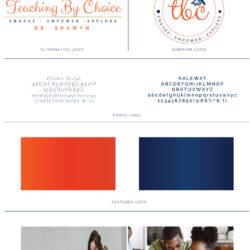 Teaching by Choice - Brand Board